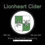 Lionheartcider winelist