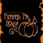 Pumpkin Liquor Label winelist